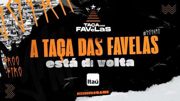 Taças das Favelas Free Fire edição 2021 retorna com apoio da LOUD e Itaú