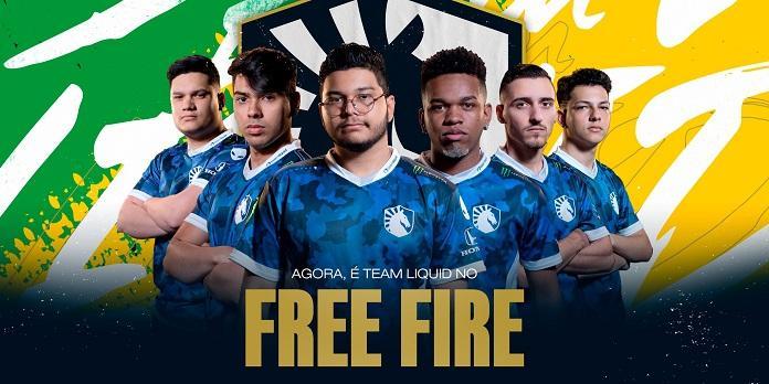 Conheça a equipe da Team Liquid de Free Fire