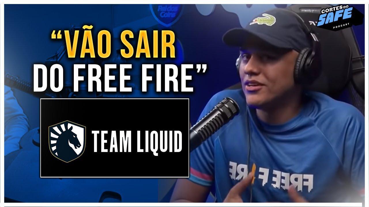 Team Liquid pode abandonar o Free Fire após ser rebaixada para a Série B da LBFF
