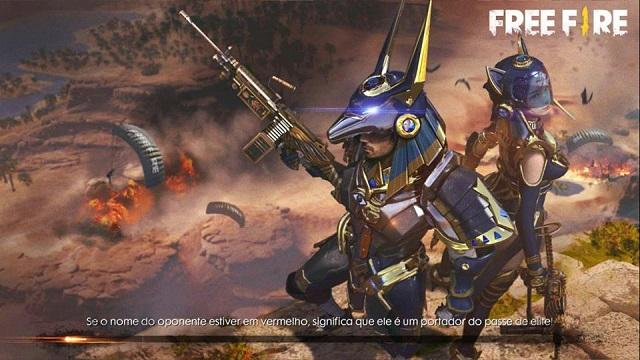 Tela de Carregamento do Novo Passe de Elite 10 - Deuses Egípcios