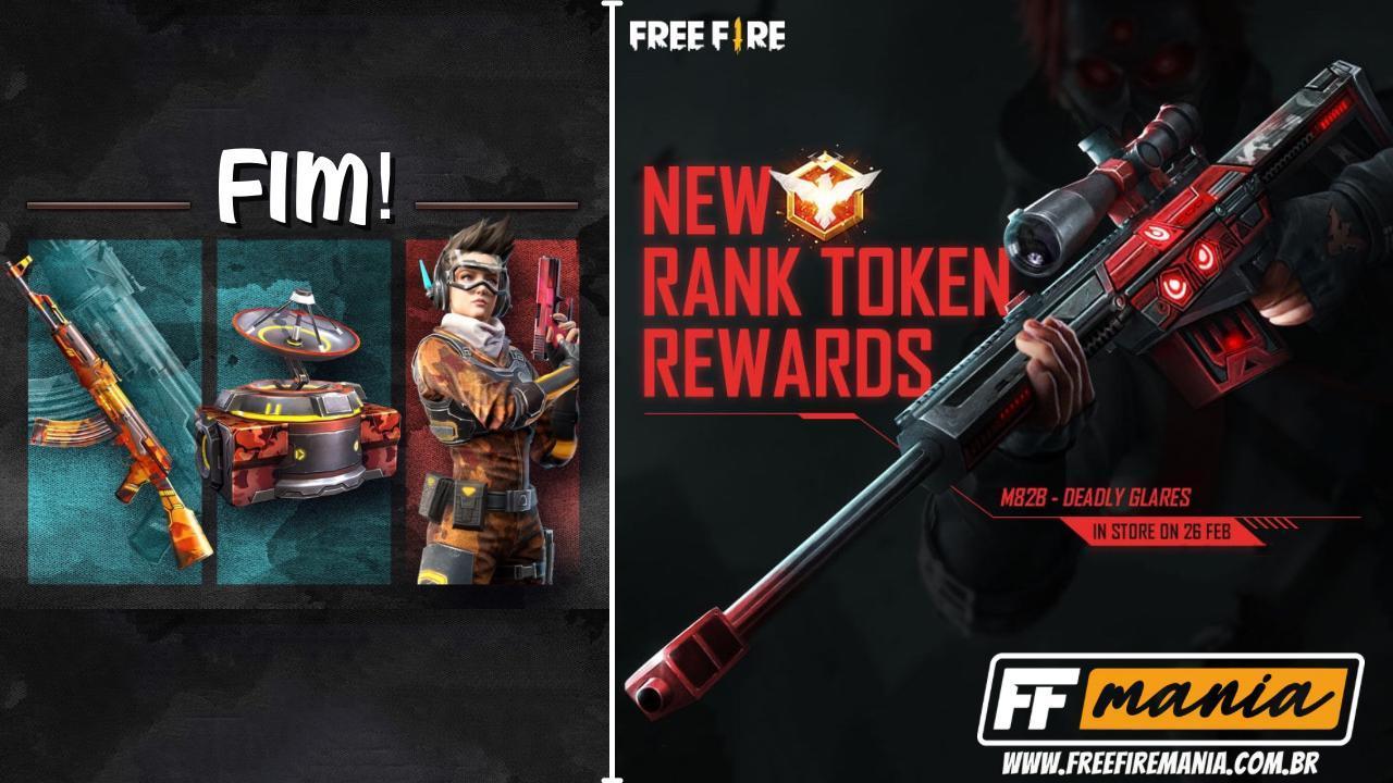 Temporada Free Fire: 19ª termina nesta sexta e recompensas irão mudar, confira os detalhes