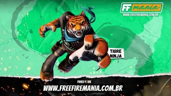 Mestre Trigo Free Fire: vazamento aponta um Tigre como novo pet no Battle Royale da Garena