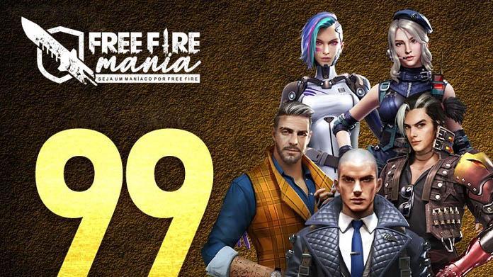 Todos os Pacotes de Personagens por 99 Diamantes no Free Fire da Europa