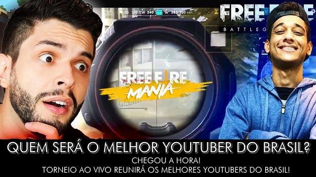 Torneio OFICIAL reunir? os maiores Youtubers do Brasil!
