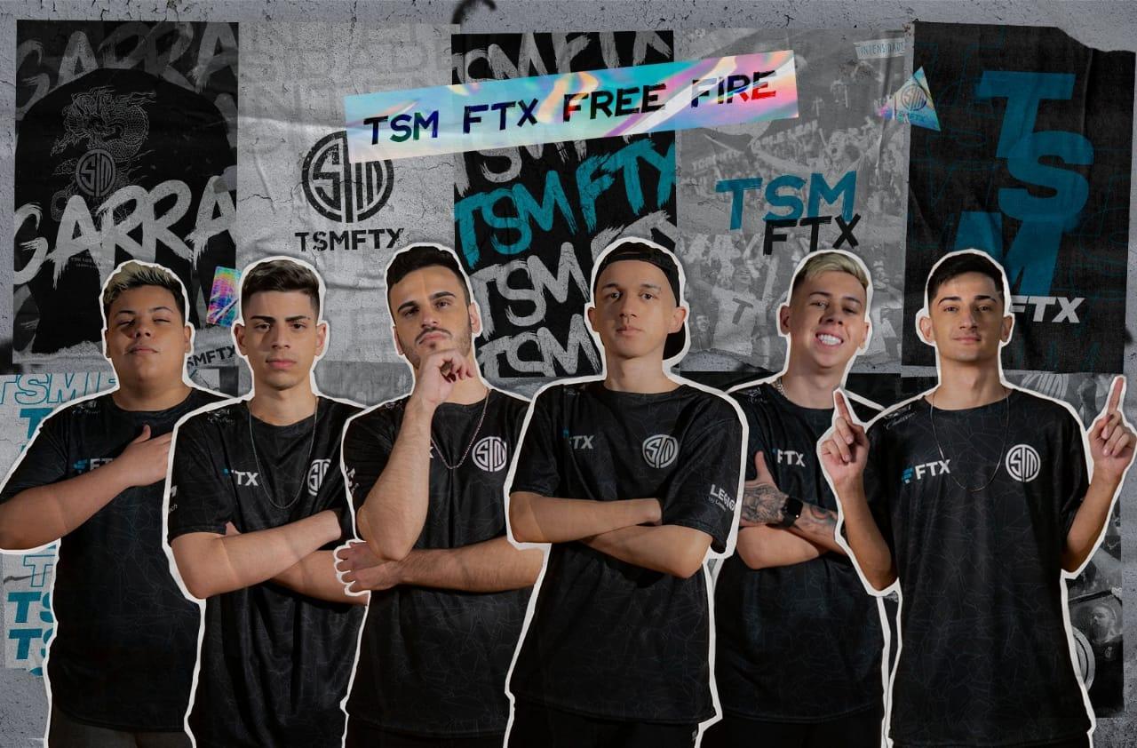 TSM Free Fire: Anunciada a line-up mobile para disputa da LBFF Season 6