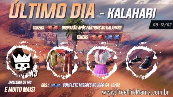 Último dia do Mapa Kalahari
