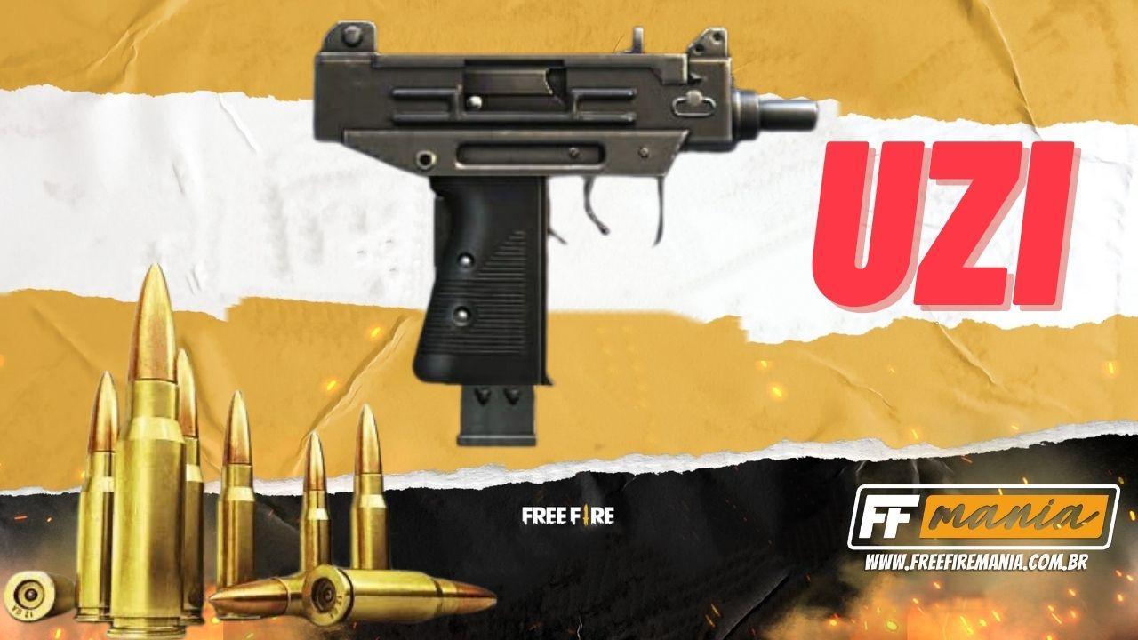 UZI Free Fire: nova arma será a primeira pistola-metralhadora do Battle Royale, saiba tudo