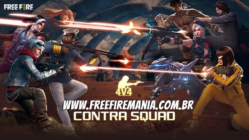 Vai mudar tudo no Contra Squad do Free Fire na nova atualização de Junho