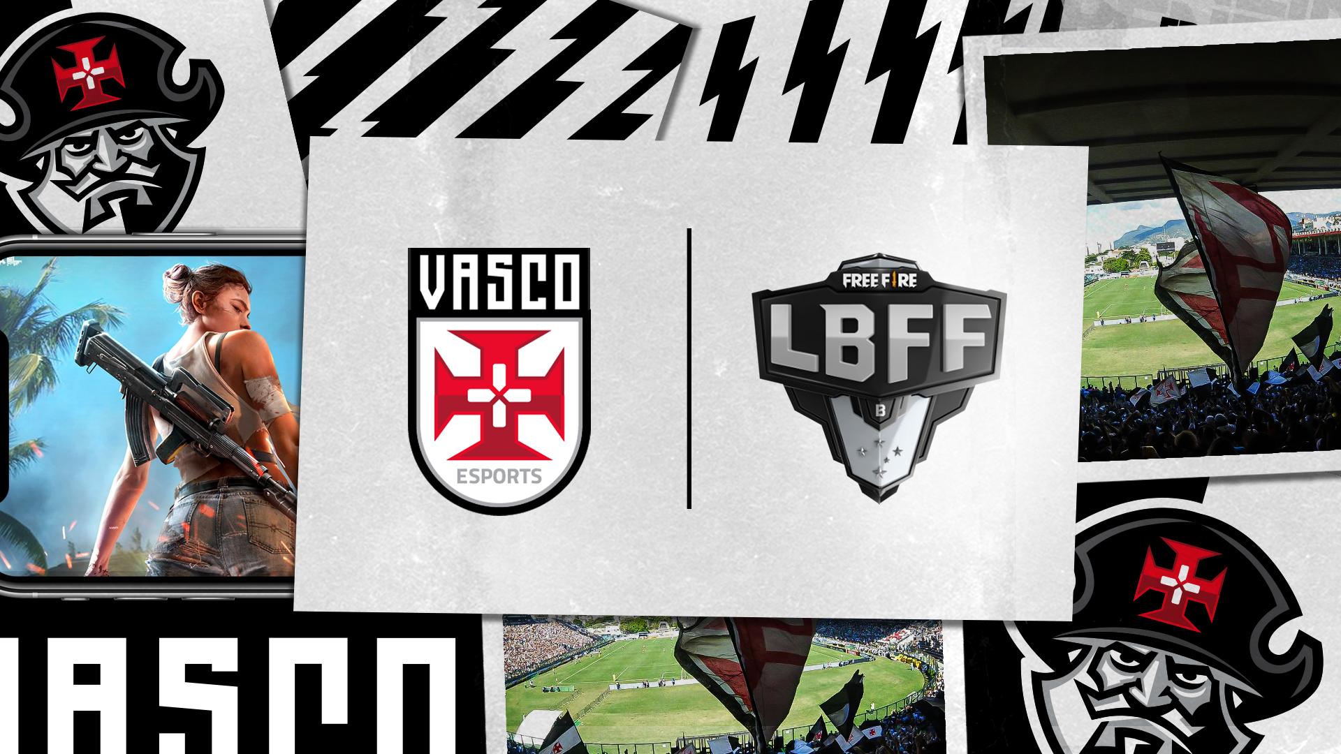 Vasco Free Fire: organização anuncia sua line-up para disputa da LBFF Série B
