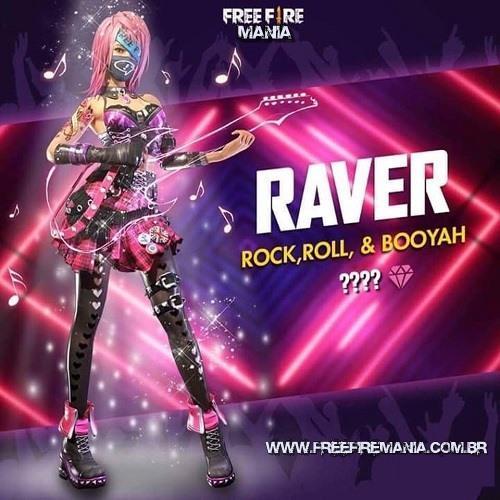 VAZOU!!! Nova Roupa Sorte Royale - Rock Roll