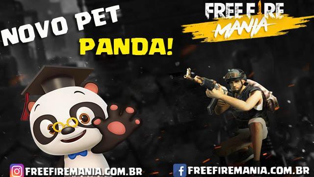VAZOU: Um Panda será o Novo Pet do Free Fire!