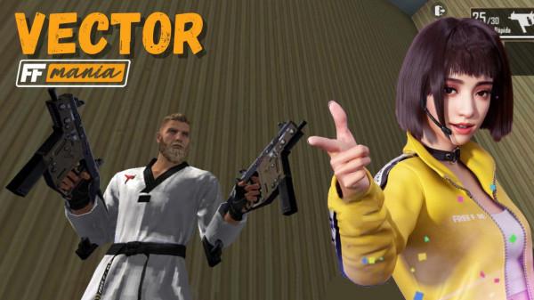 Vector Free Fire: agora é possível usar duas armas ao mesmo tempo no jogo