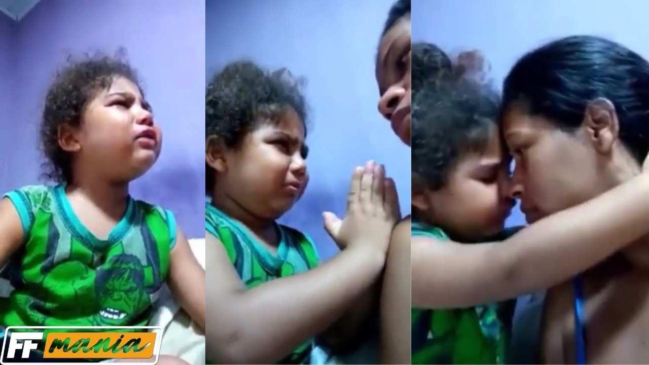 VÍDEO: criança gasta R$ 217 em diamantes, pede desculpa a mãe e viraliza