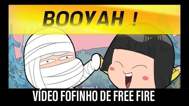 Vídeo Fofinho: Aprenda a jogar Free Fire